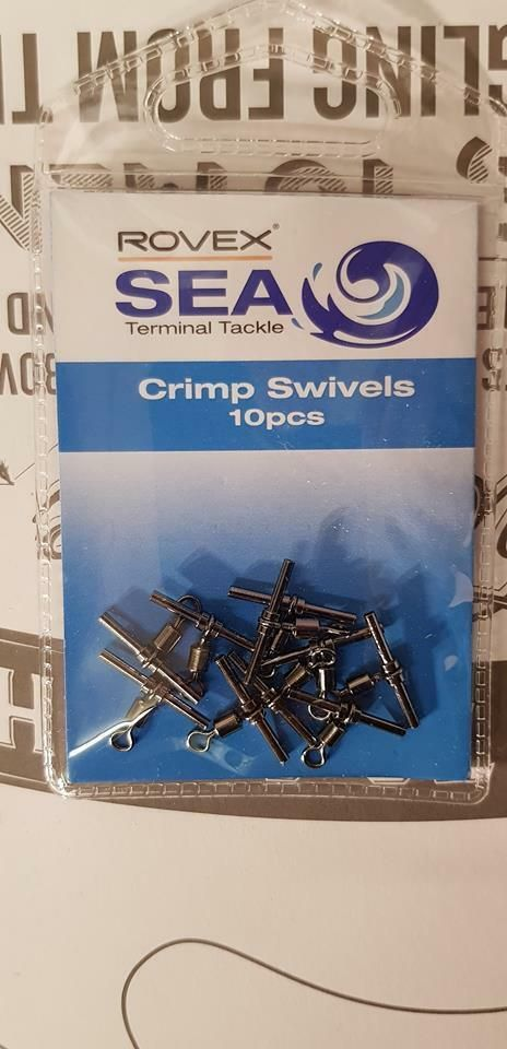 Rovex  Crimp swivels 10 pieces per packet